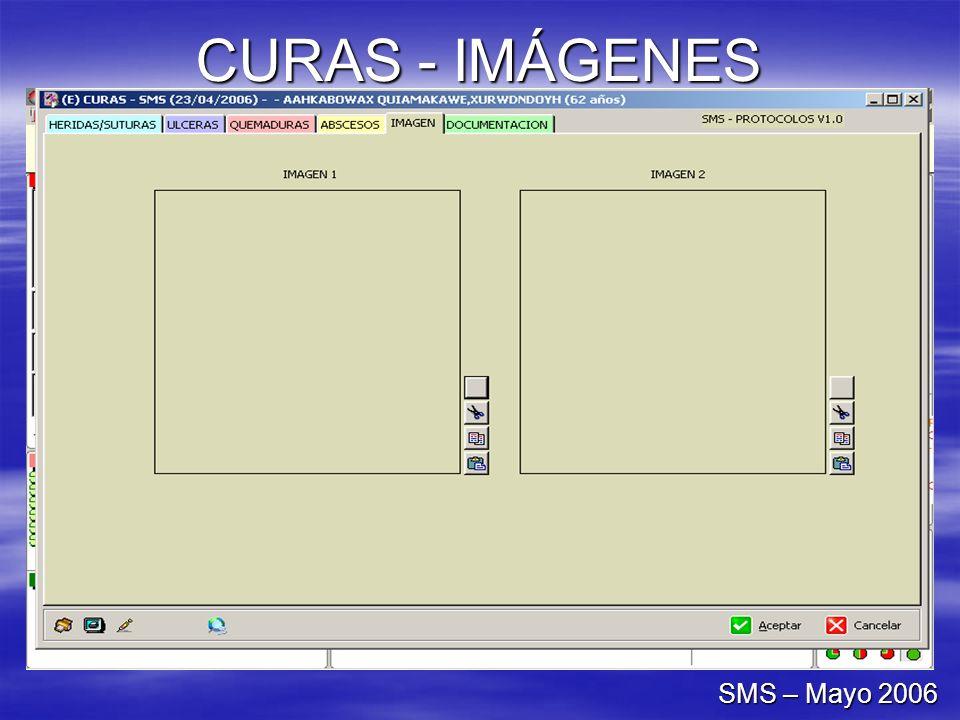 CURAS - IMÁGENES SMS – Mayo 2006
