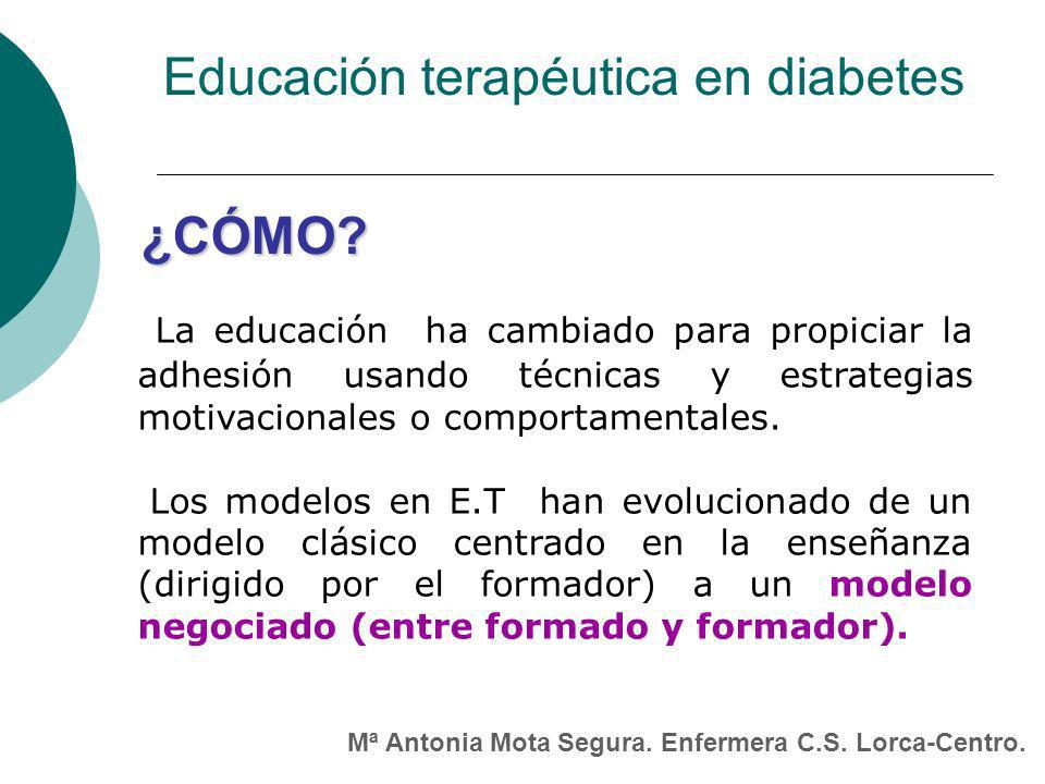 Educación terapéutica en diabetes