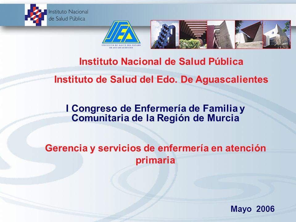 Gerencia y servicios de enfermería en atención primaria