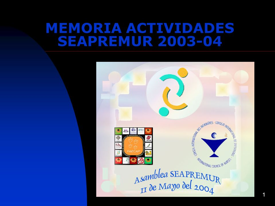 MEMORIA ACTIVIDADES SEAPREMUR 2003-04