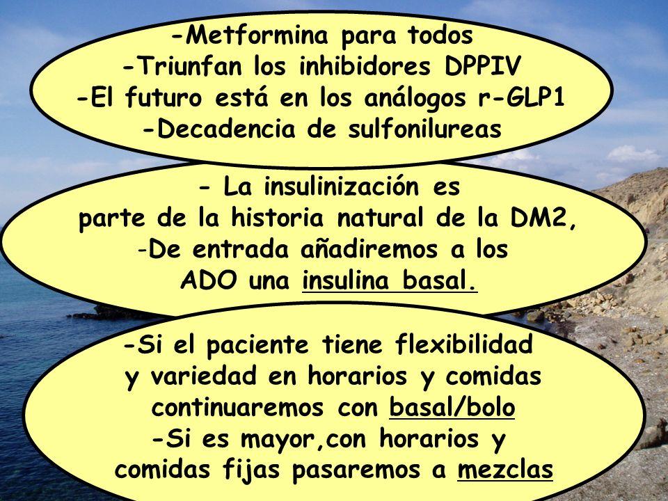 -Metformina para todos -Triunfan los inhibidores DPPIV