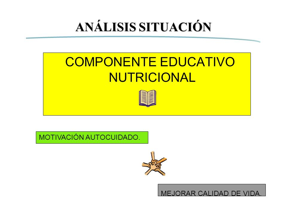 COMPONENTE EDUCATIVO NUTRICIONAL