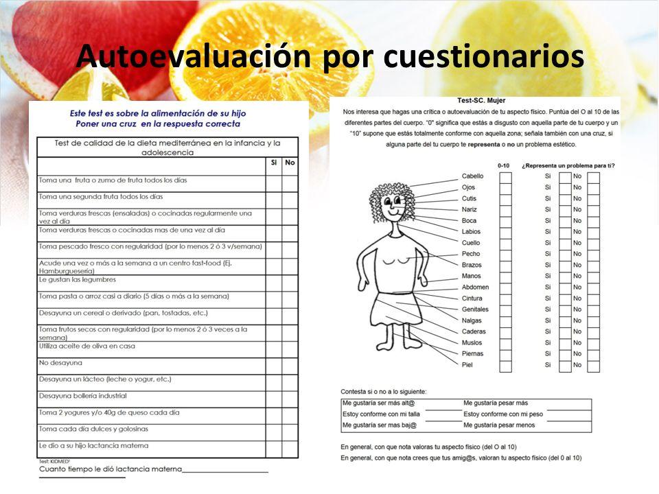 Autoevaluación por cuestionarios