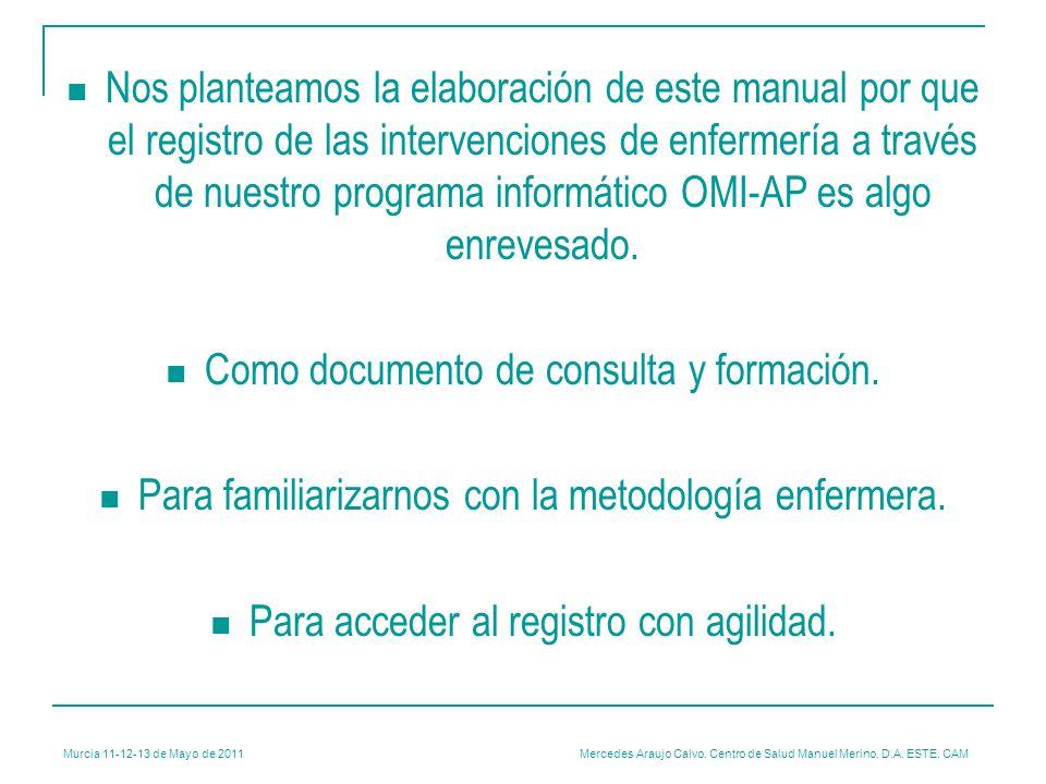 Como documento de consulta y formación.