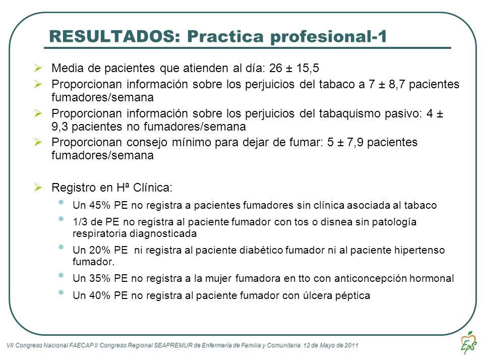 RESULTADOS: Practica profesional-1