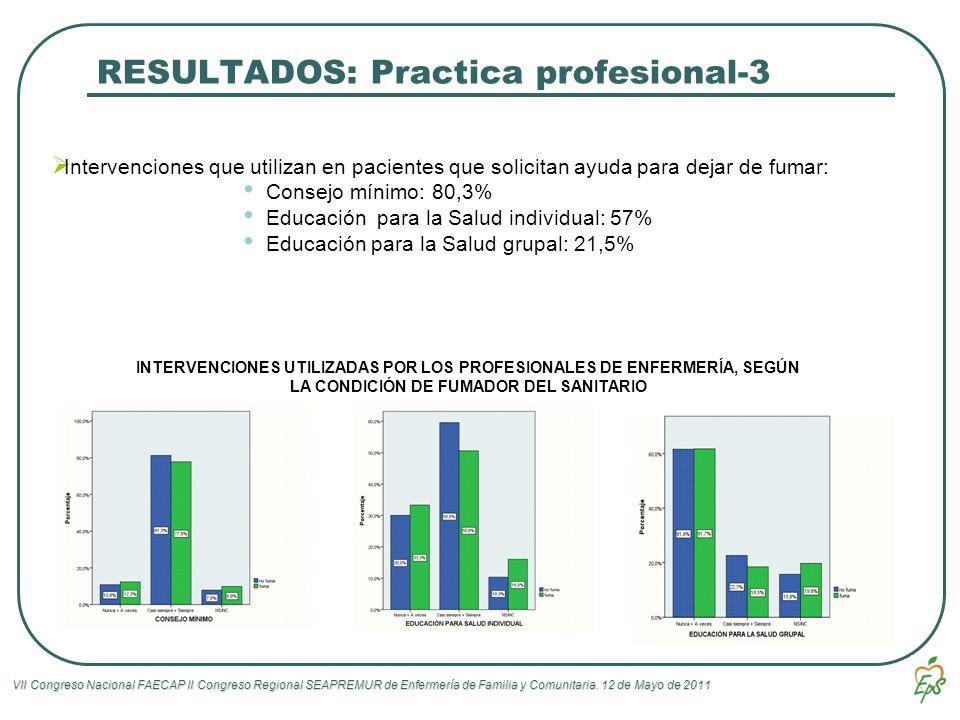 RESULTADOS: Practica profesional-3