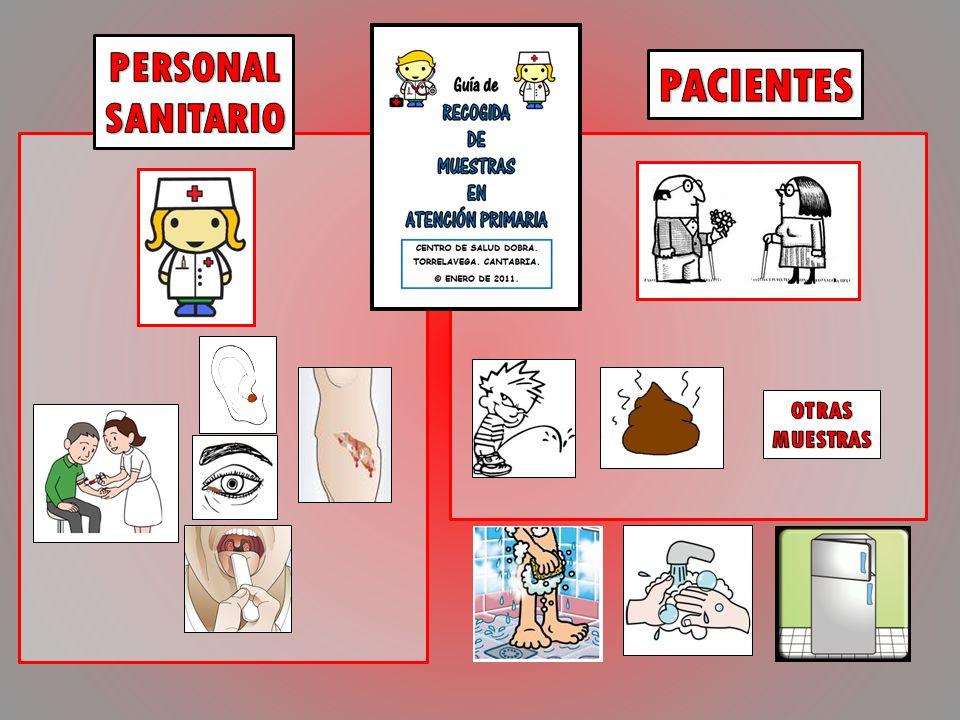 PERSONAL SANITARIO PACIENTES OTRAS MUESTRAS