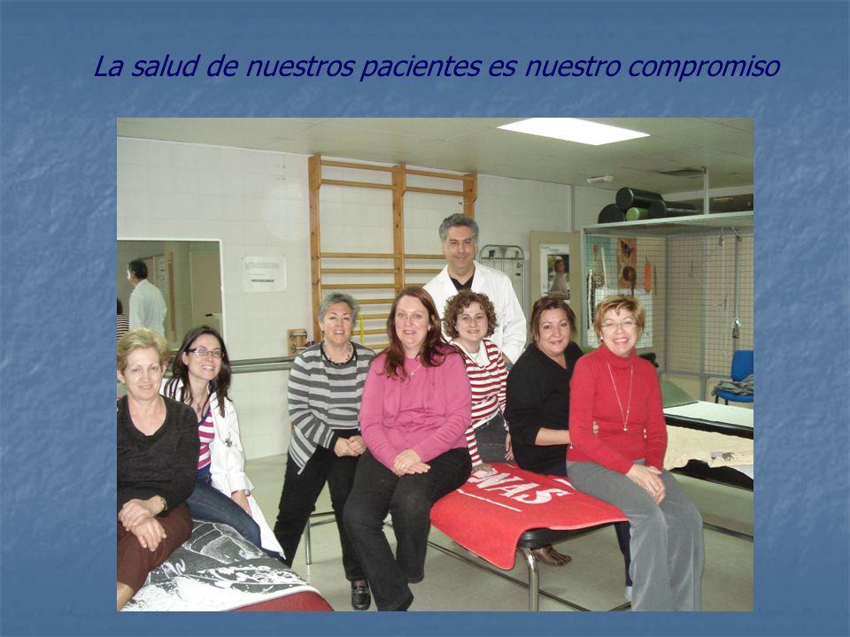 La salud de nuestros pacientes es nuestro compromiso