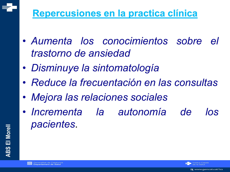 Repercusiones en la practica clínica