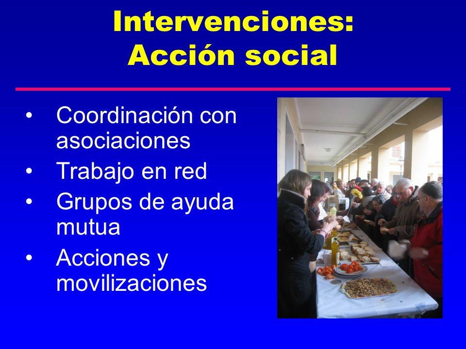 Intervenciones: Acción social