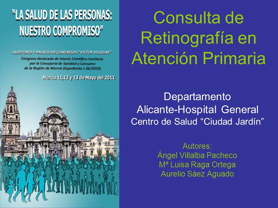 Consulta de Retinografía en Atención Primaria