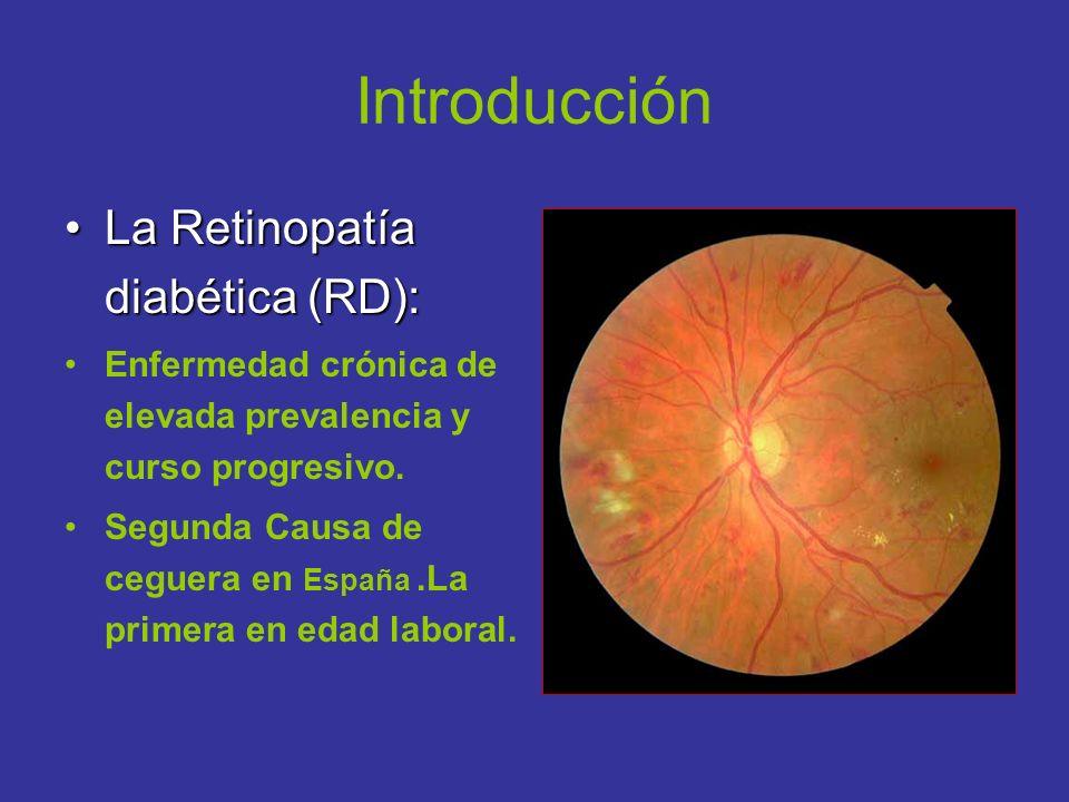 Introducción La Retinopatía diabética (RD):
