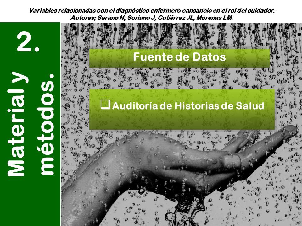 Auditoría de Historias de Salud