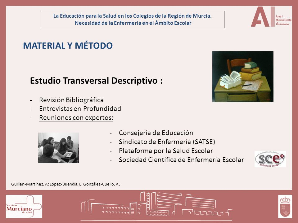 Estudio Transversal Descriptivo :