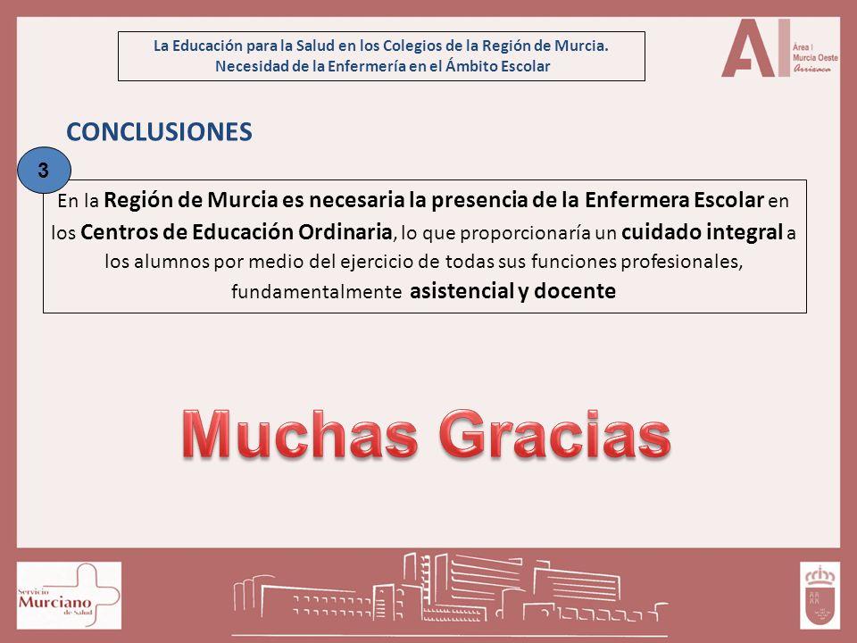 Muchas Gracias CONCLUSIONES 3