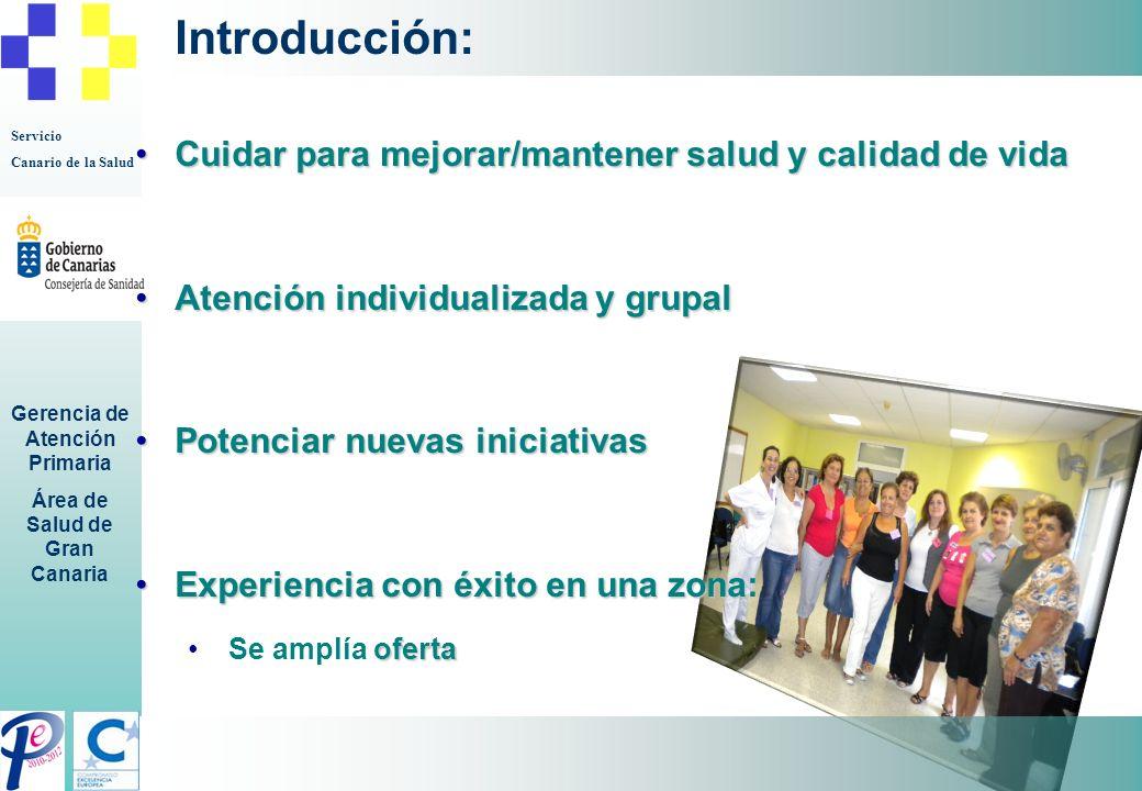 Introducción: Cuidar para mejorar/mantener salud y calidad de vida