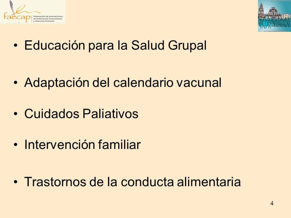 Educación para la Salud Grupal
