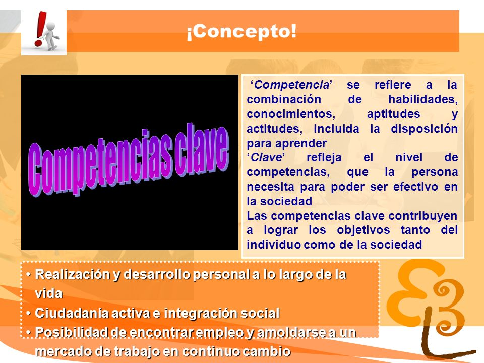 Competencias clave ¡Concepto!