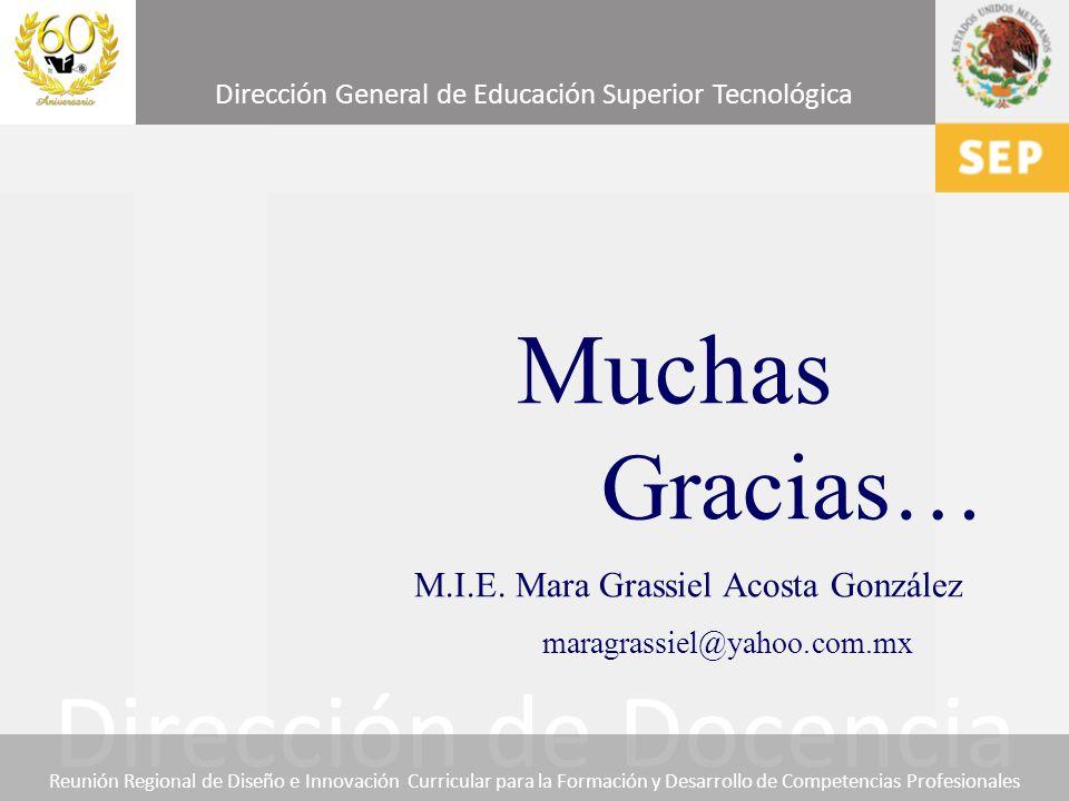Muchas Gracias… maragrassiel@yahoo.com.mx