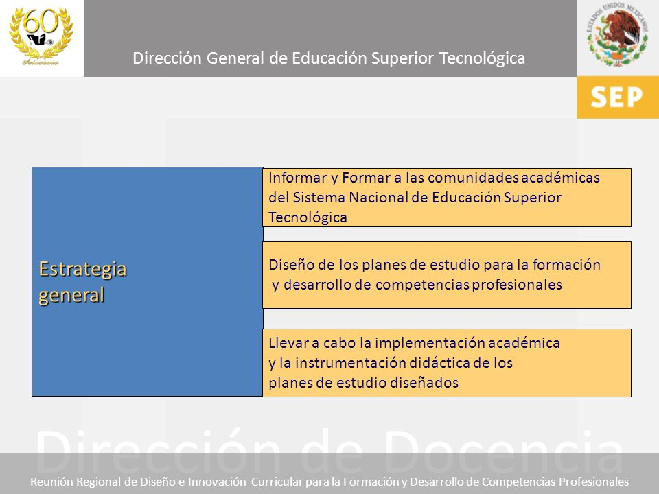 Estrategia general Informar y Formar a las comunidades académicas