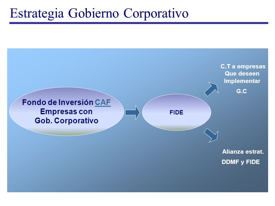 Estrategia Gobierno Corporativo