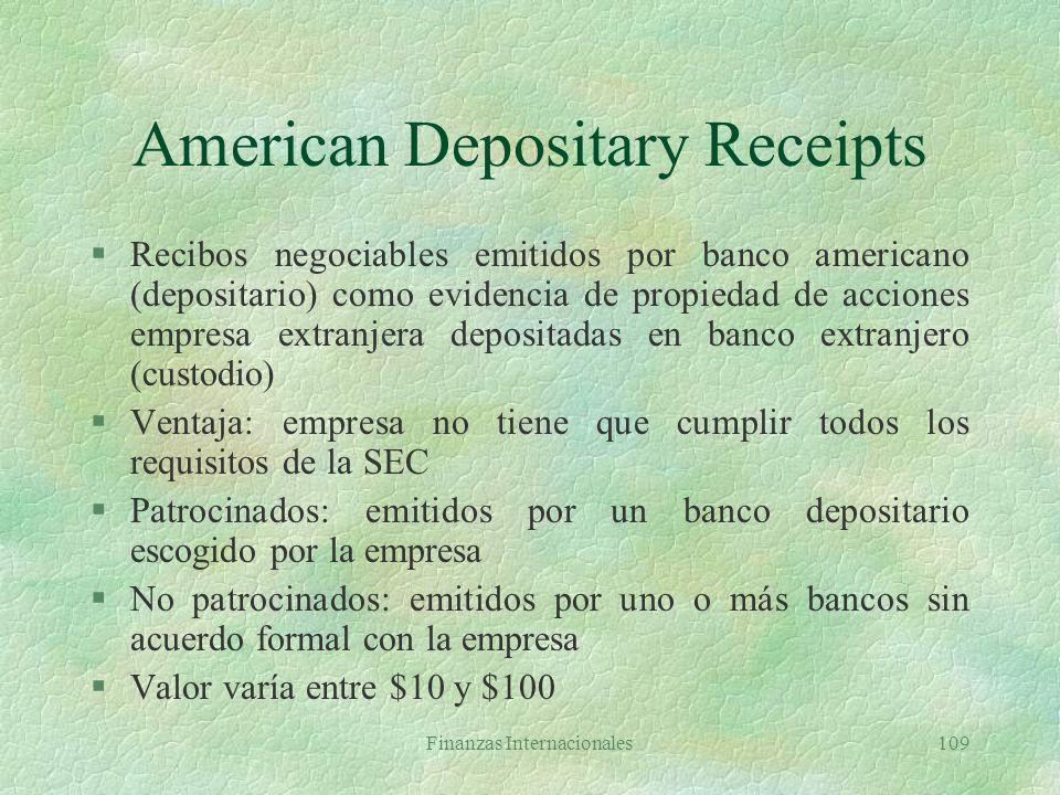 American Depositary Receipts