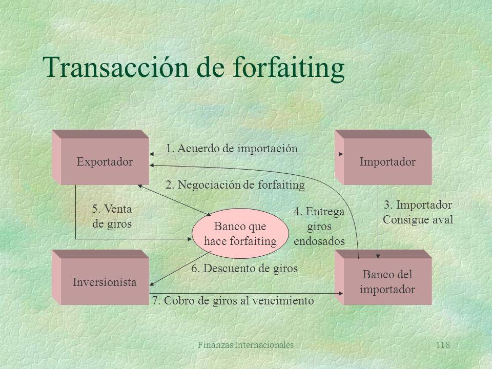 Transacción de forfaiting