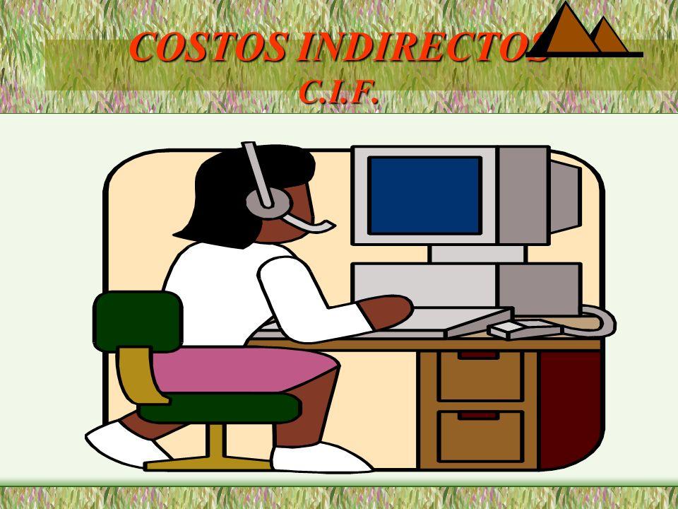 COSTOS INDIRECTOS C.I.F.