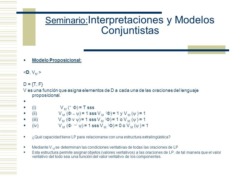 Seminario:Interpretaciones y Modelos Conjuntistas