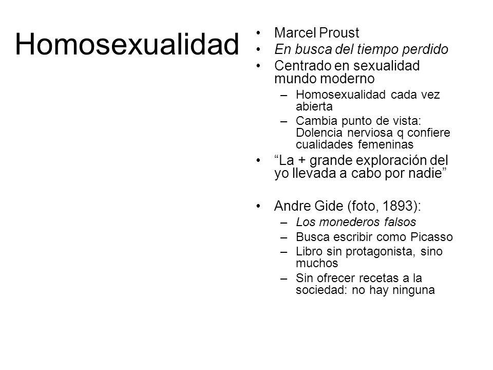 Homosexualidad Marcel Proust En busca del tiempo perdido
