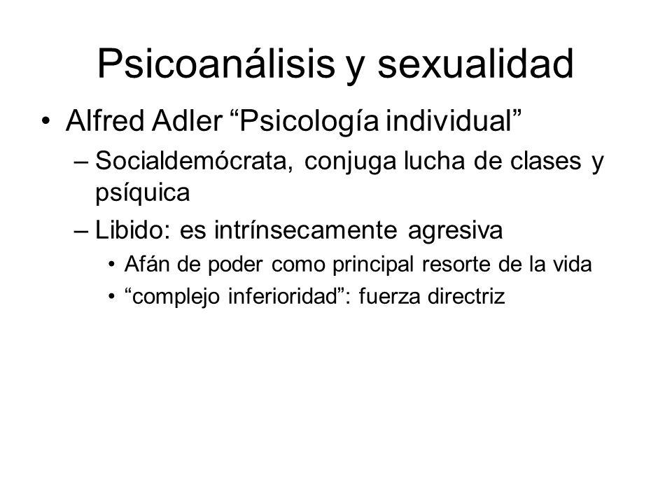 Psicoanálisis y sexualidad