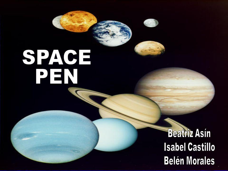 SPACE PEN Beatriz Asín Isabel Castillo Belén Morales