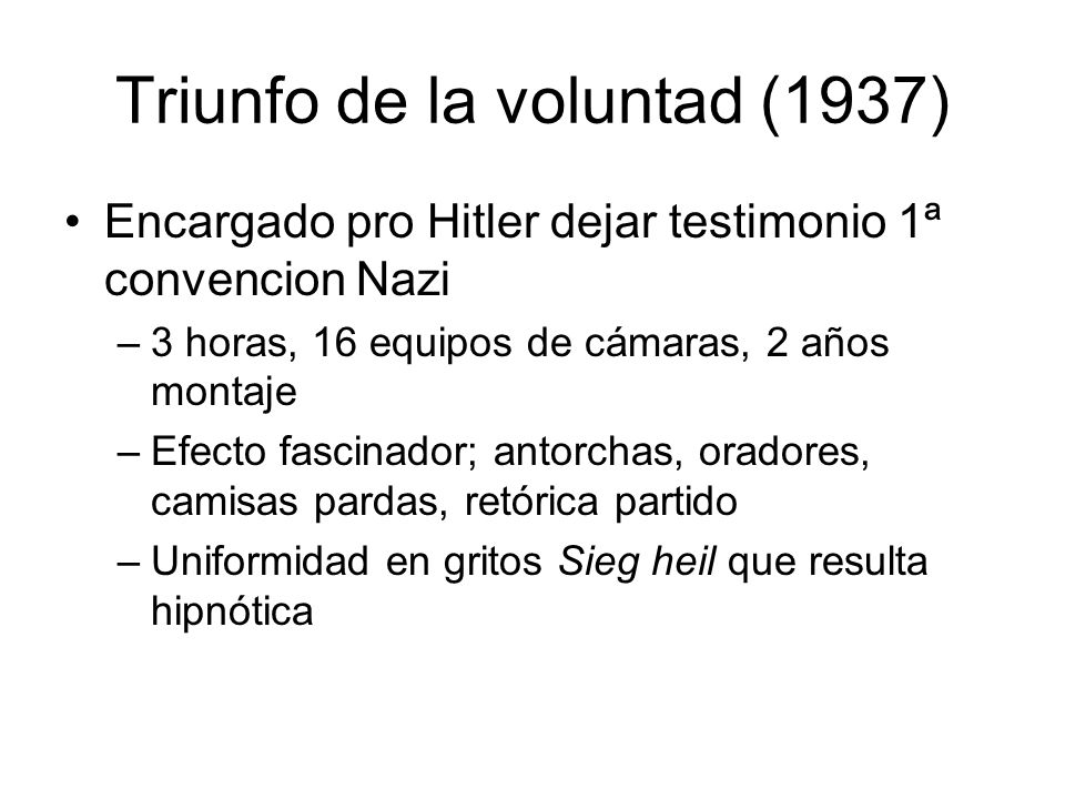 Triunfo de la voluntad (1937)