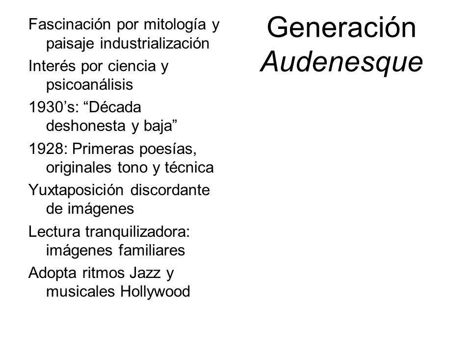 Generación Audenesque