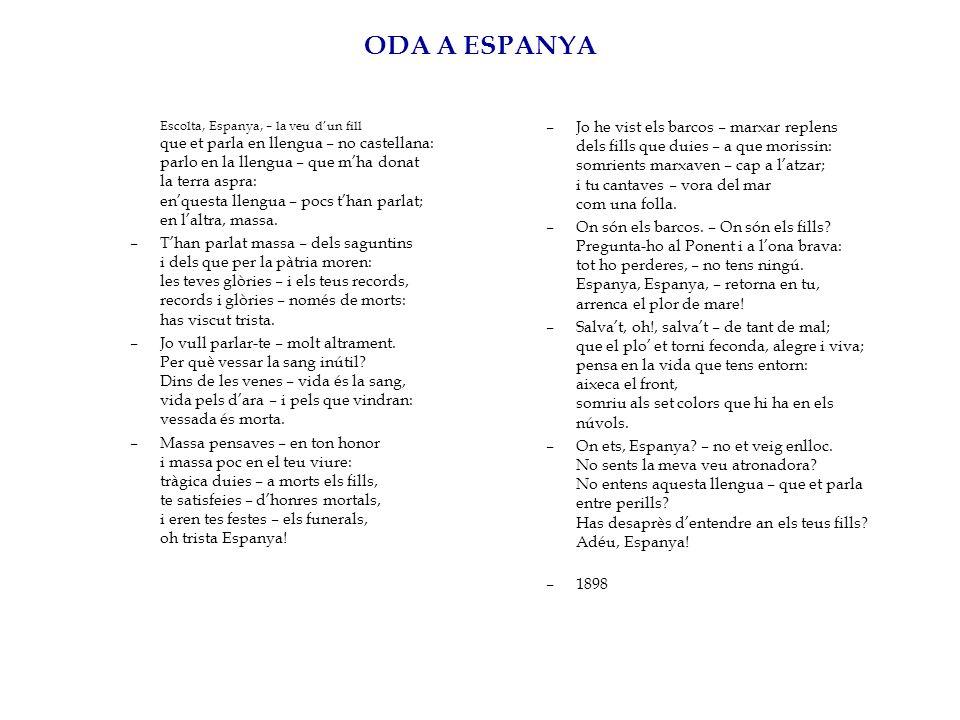 ODA A ESPANYA