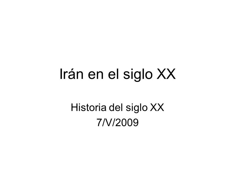 Historia del siglo XX 7/V/2009