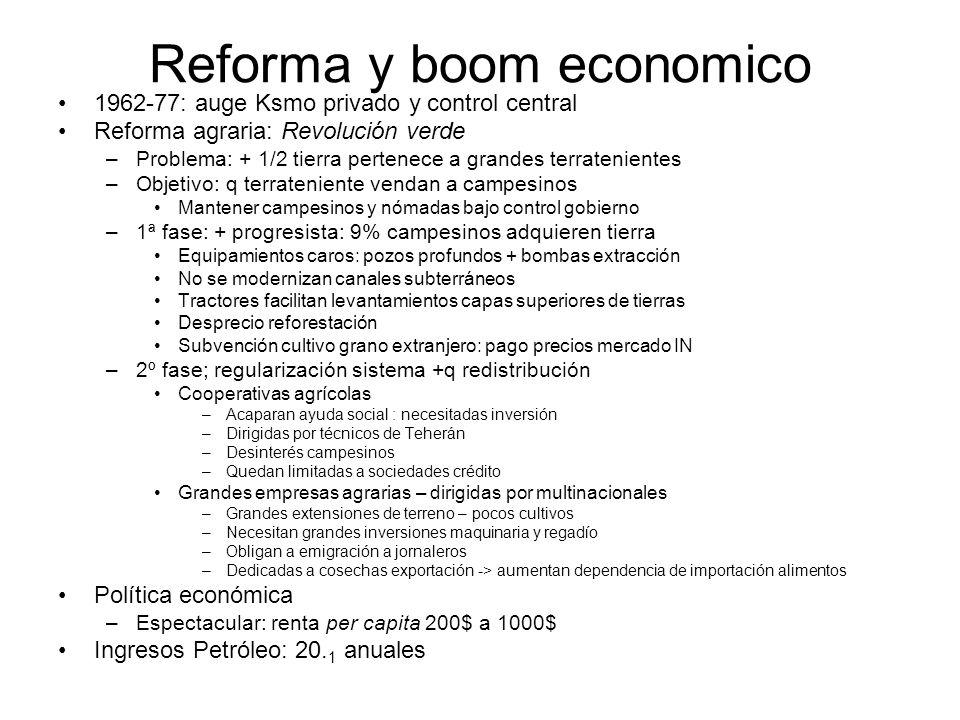 Reforma y boom economico
