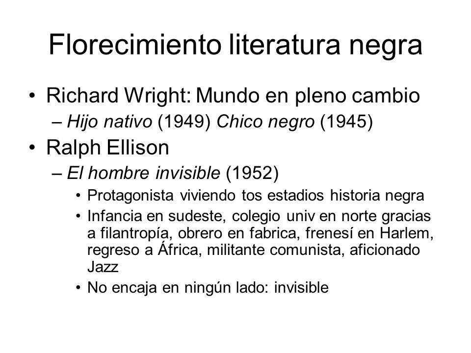 Florecimiento literatura negra