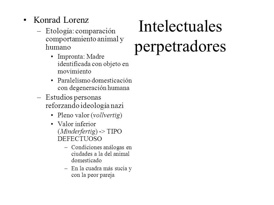 Intelectuales perpetradores
