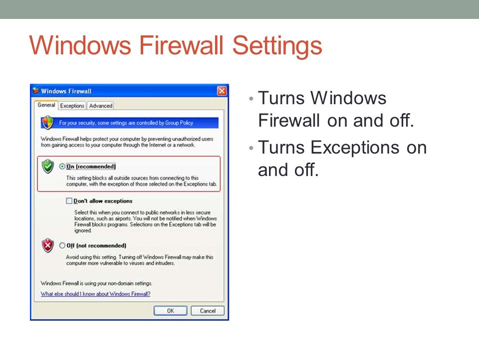 how to change firewall port settings windows 10