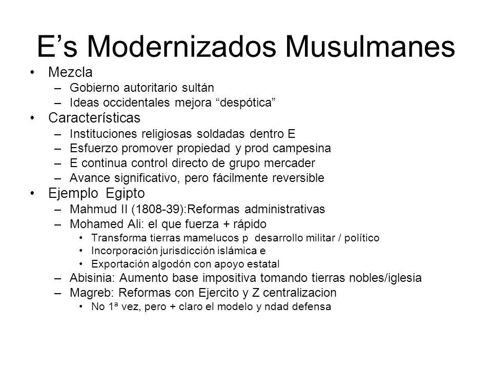 E's Modernizados Musulmanes