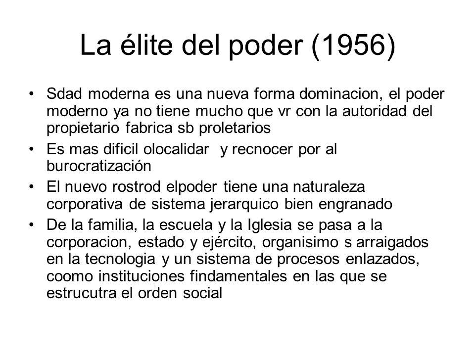 La élite del poder (1956)