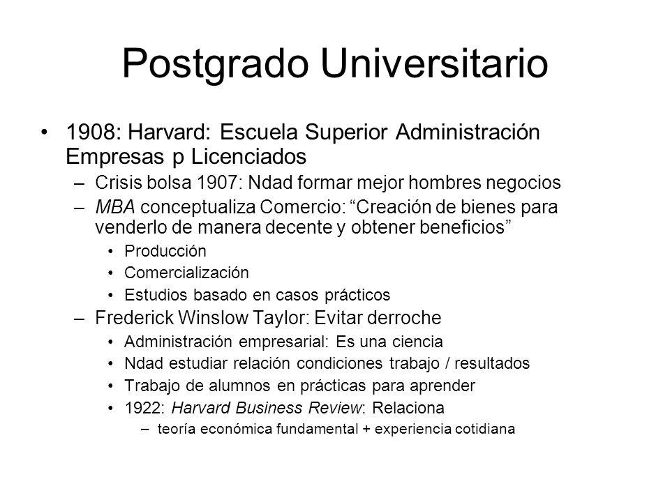 Postgrado Universitario