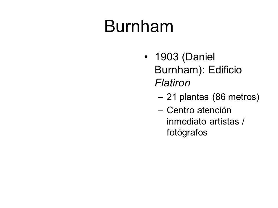 Burnham 1903 (Daniel Burnham): Edificio Flatiron