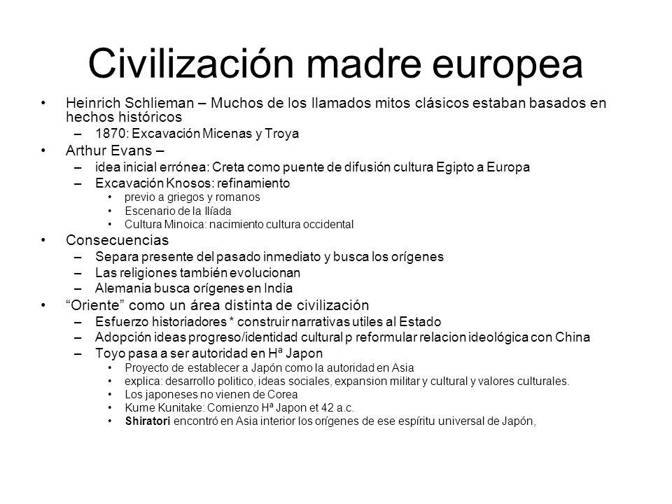Civilización madre europea