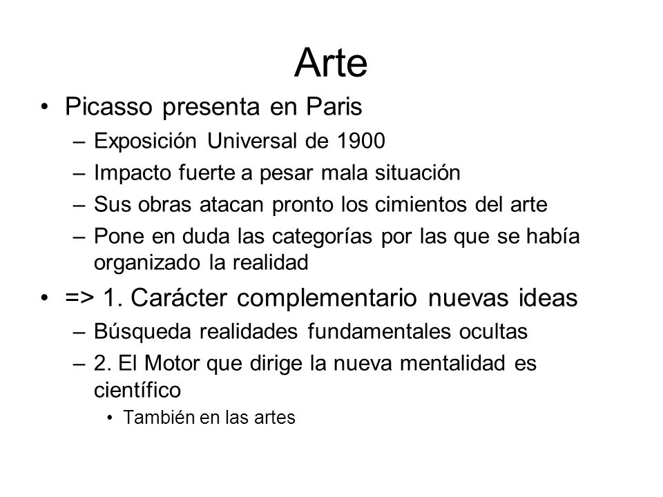 Arte Picasso presenta en Paris