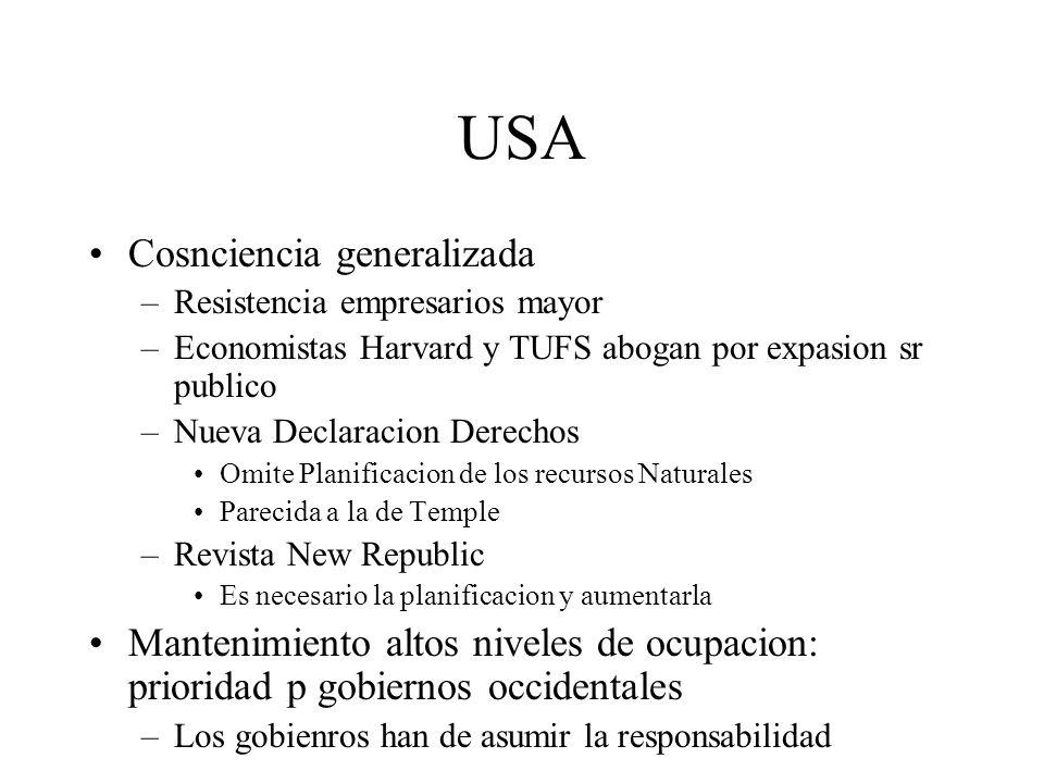 USA Cosnciencia generalizada