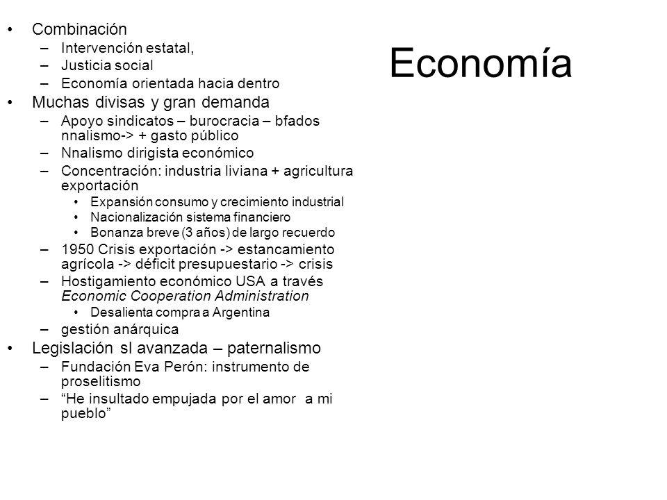 Economía Combinación Muchas divisas y gran demanda