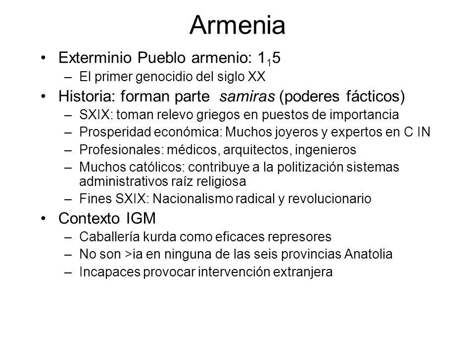 Armenia Exterminio Pueblo armenio: 115