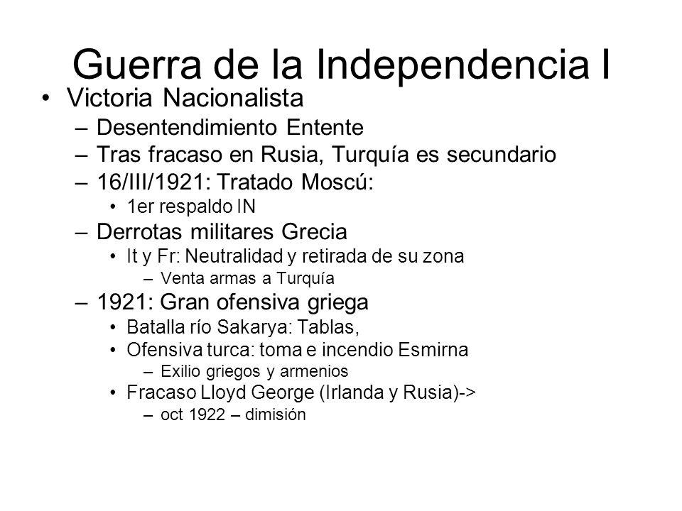Guerra de la Independencia I